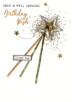 Make A Birthday Wish Irresistible Greeting Card