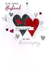 To My Husband On Our Anniversary Irresistible Greeting Card
