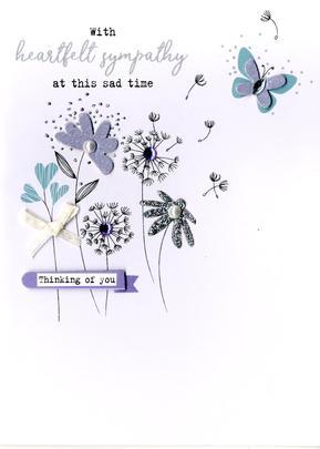 Heartfelt Sympathy Irresistible Greeting Card