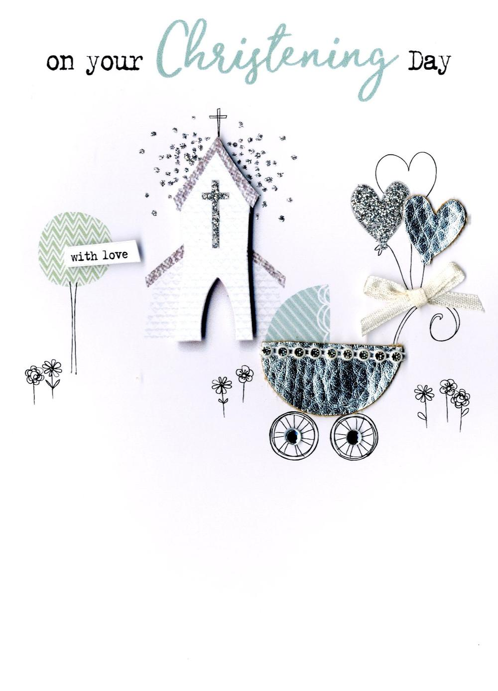 On Your Christening Day Irresistible Greeting Card
