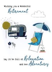 Wonderful Retirement Irresistible Greeting Card