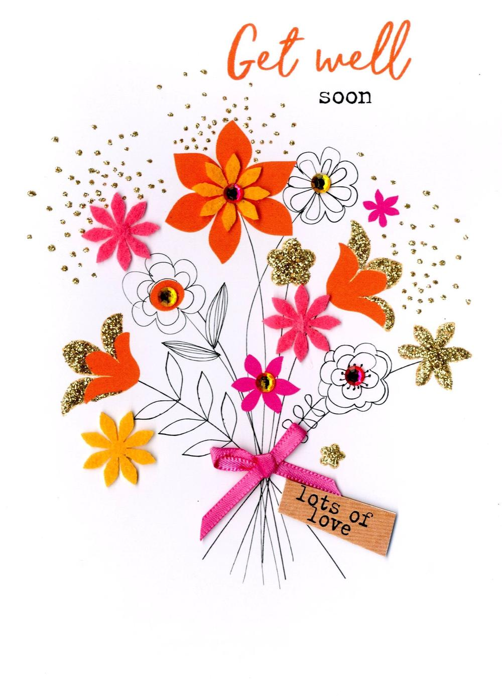 Get Well Soon Irresistible Greeting Card