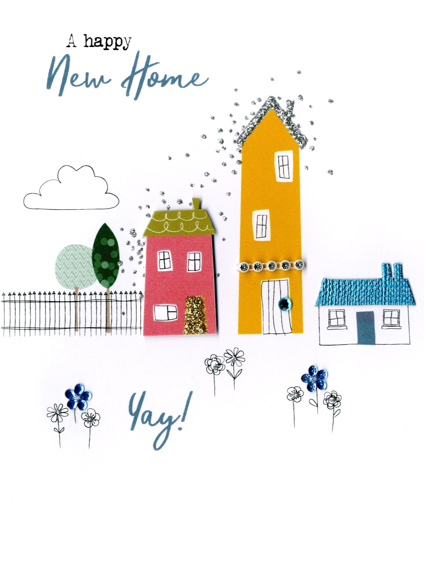 Happy New Home Yay Irresistible Greeting Card Cards Love Kates