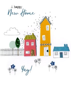 Happy New Home Yay! Irresistible Greeting Card