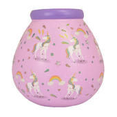 Unicorn Pattern Pots of Dreams Money Pot