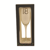 18th Birthday Celebrate In Style Flute Glass In Gift Box