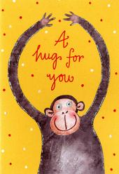 A Hug For You Greeting Card
