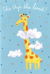 The Sky's The Limit Congratulations Greeting Card