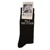 No.1 Brother Black Emotional Rescue Socks