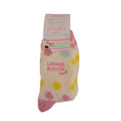 Boofle Lovely Auntie Pair Fluffy Slipper Socks