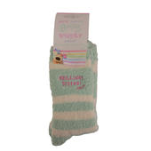 Boofle Lovely Brilliant Sister Fluffy Slipper Socks
