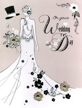 On Your Wedding Day Gigantic Greeting Card