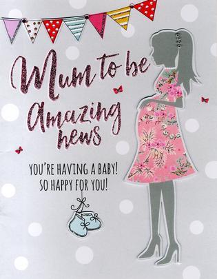 Mum To Be Gigantic Greeting Card