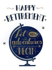 Happy Retirement Gigantic Greeting Card