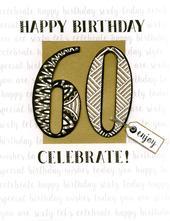 60th Birthday Gigantic Greeting Card