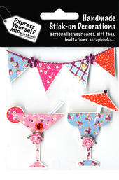 Cocktails & Bunting DIY Greeting Card Toppers