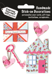 Home Sweet Home DIY Greeting Card Toppers
