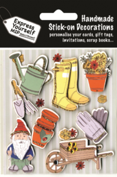 Gardening & Gnome DIY Greeting Card Toppers