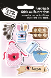 Baking Themed DIY Greeting Card Toppers
