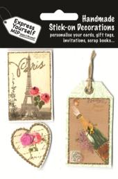 Vintage Tags DIY Greeting Card Toppers