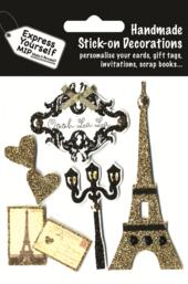 Paris Oooh La La DIY Greeting Card Toppers