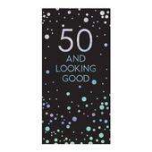 50th Birthday Celebrate In Style Chocolate Bar & Card In One