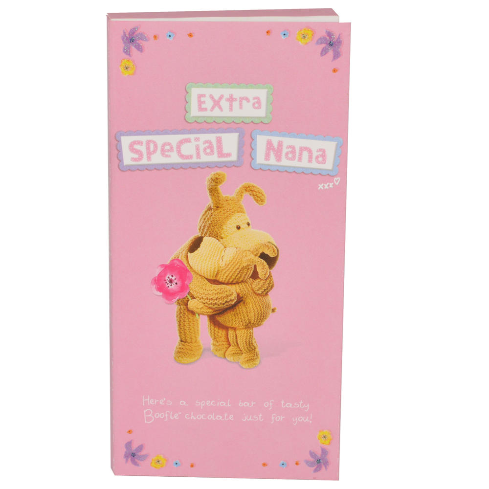 Extra Special Nana Boofle Chocolate Bar & Card In One