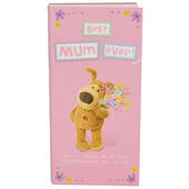 Best Mum Ever Boofle Chocolate Bar & Card In One