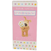 Extra Special Granddaughter Boofle Chocolate Bar & Card In One
