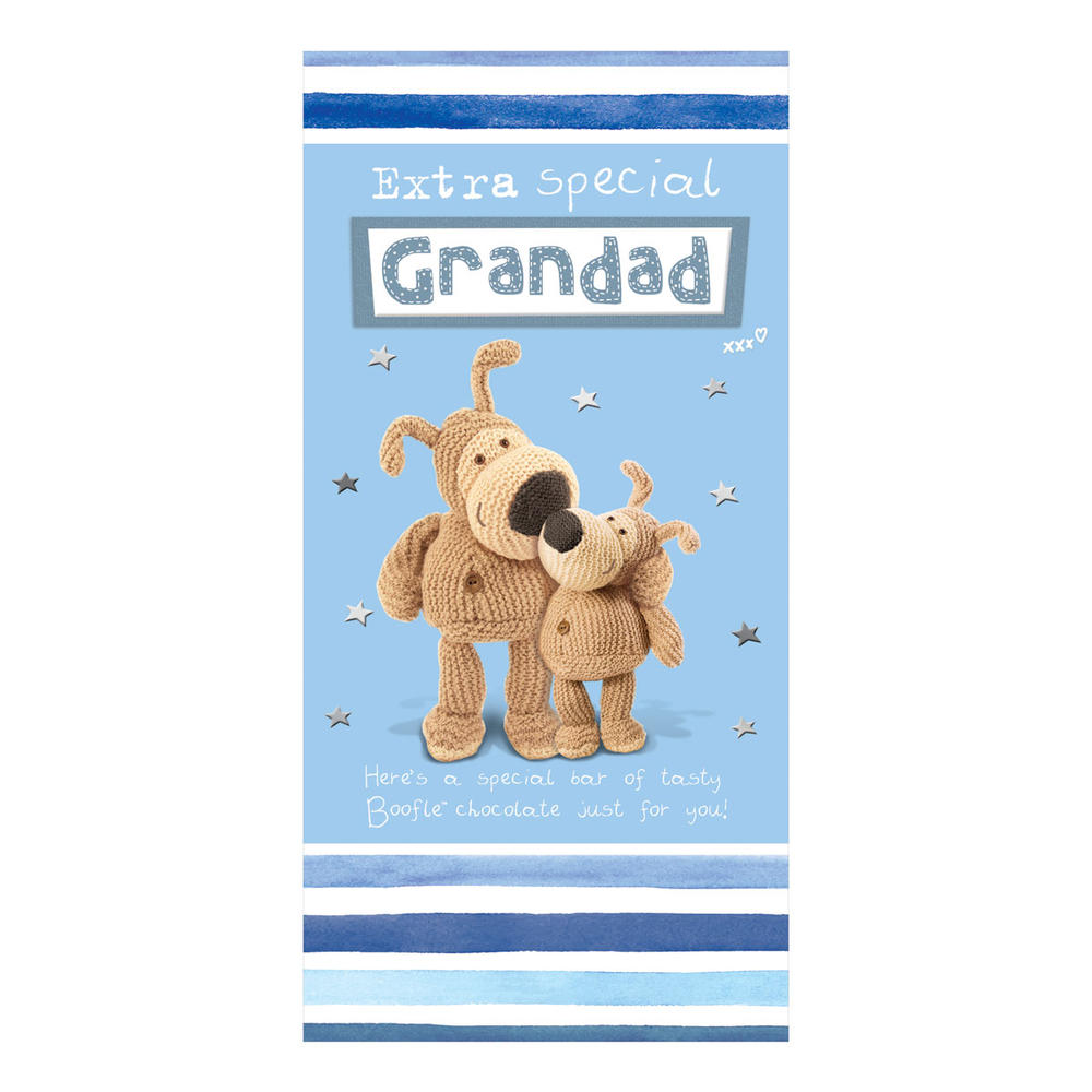 Extra Special Grandad Boofle Chocolate Bar & Card In One