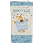 Extra Special Grandson Boofle Chocolate Bar & Card In One