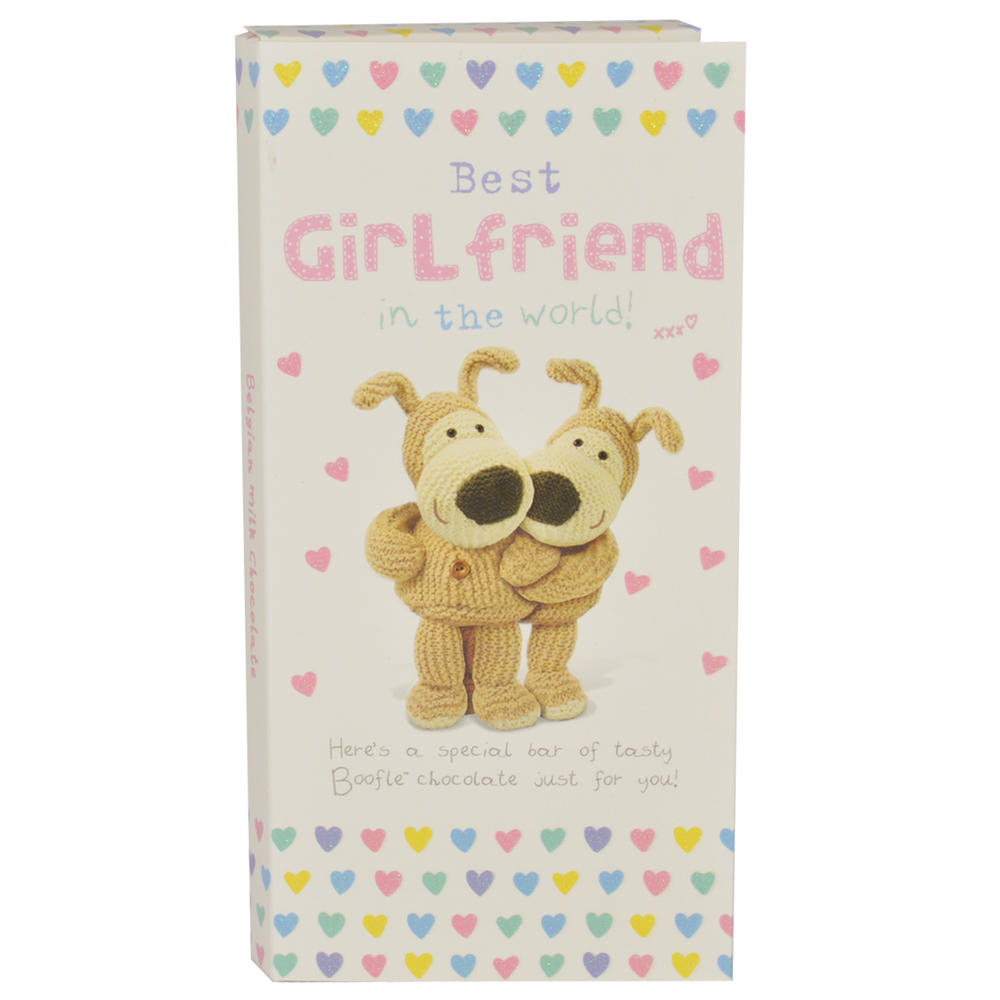 Extra Special Girlfriend Boofle Chocolate Bar & Card In One