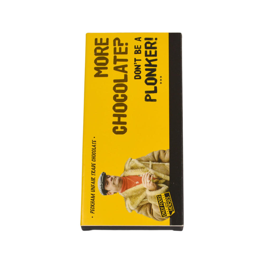 More Chocolate? Only Fools & Horses Chocolate Bar & Card In One