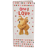 One I Love Boofle Chocolate Bar & Card In One