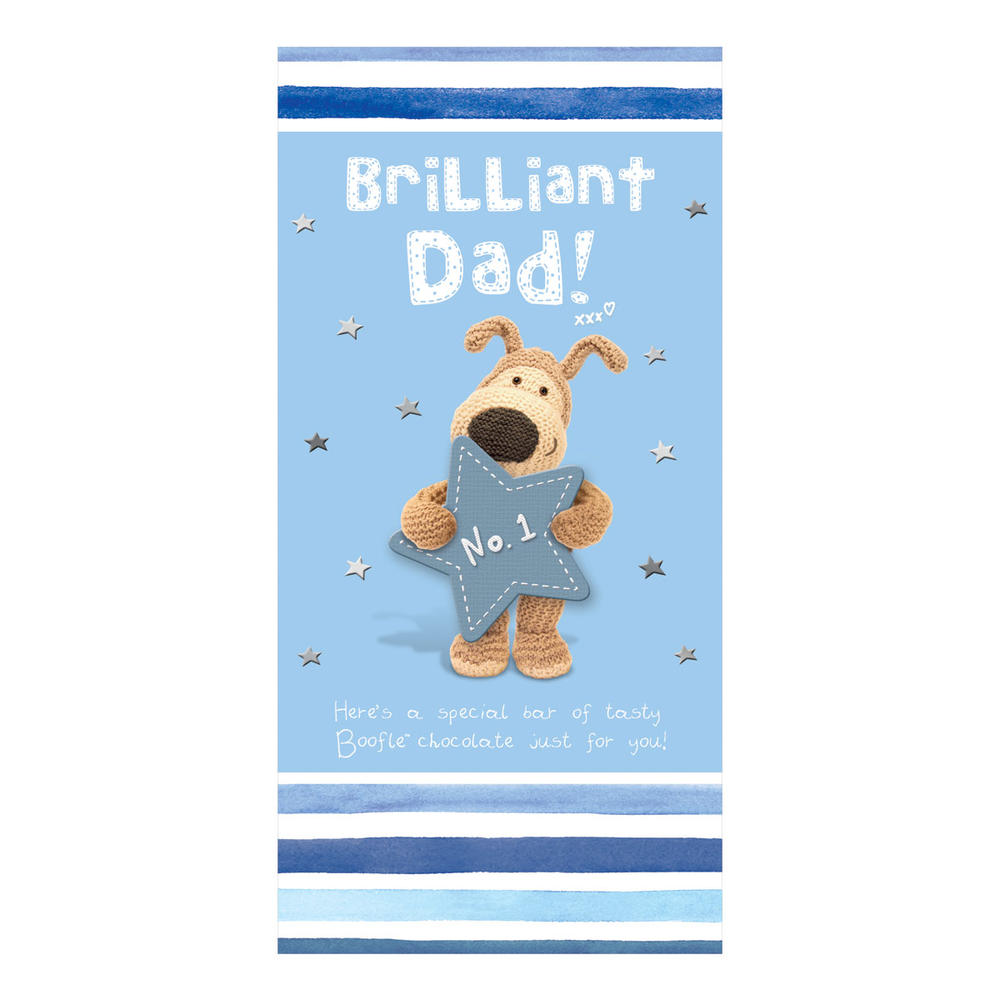 Brilliant Dad Boofle Chocolate Bar & Card In One