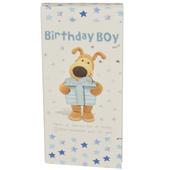 Birthday Boy Boofle Chocolate Bar & Card In One