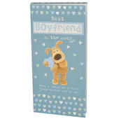 Best Boyfriend Boofle Chocolate Bar & Card In One