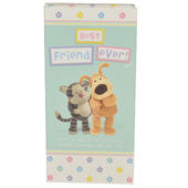 Best Friend Ever Boofle Chocolate Bar & Card In One