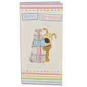 Happy Birthday Boofle Chocolate Bar & Card In One