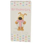 Birthday Girl Boofle Chocolate Bar & Card In One