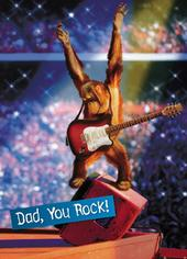 Avanti Dad You Rock Funny Father's Day Greeting Card