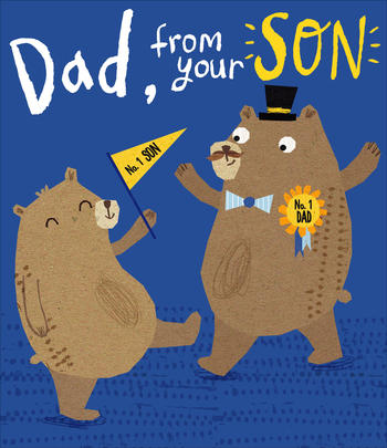 Dad From Son Father's Day Card