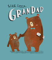 With Love Grandad Father's Day Card