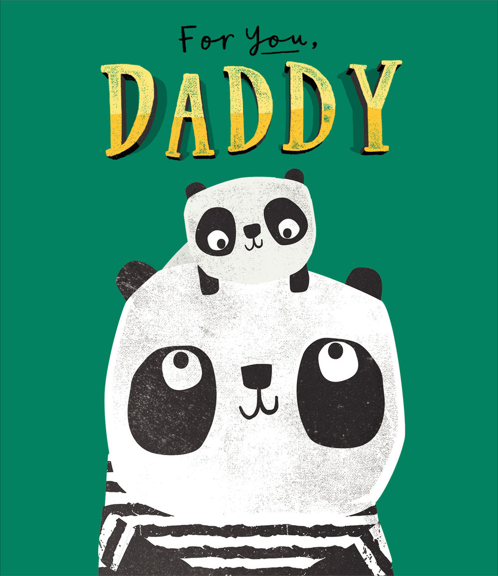 For You Daddy Father's Day Card