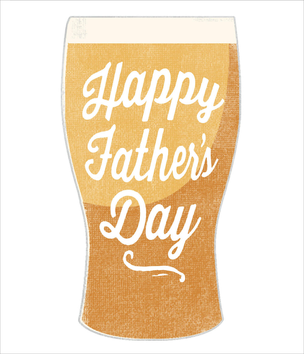 Cheers To You! Happy Father's Day Card