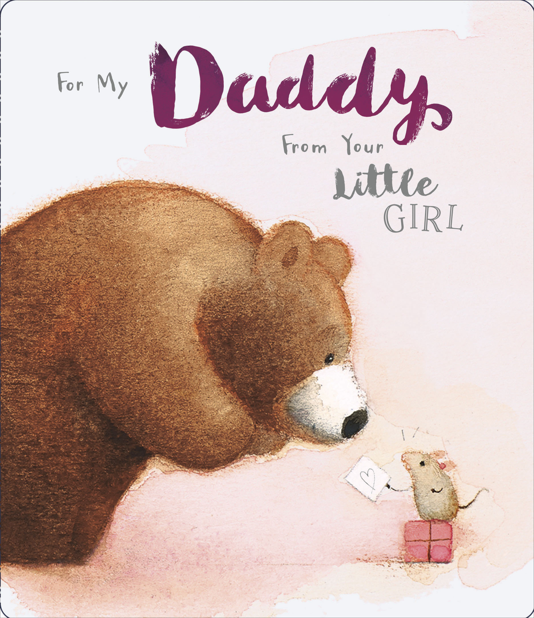 Concurrence daddies little girl