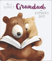 Lovely Grandad Father's Day Card Cute Albert Bear