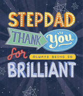 Brilliant Stepdad Thank You Father's Day Card