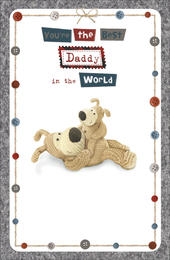Boofle Best Daddy In World Happy Father's Day Card