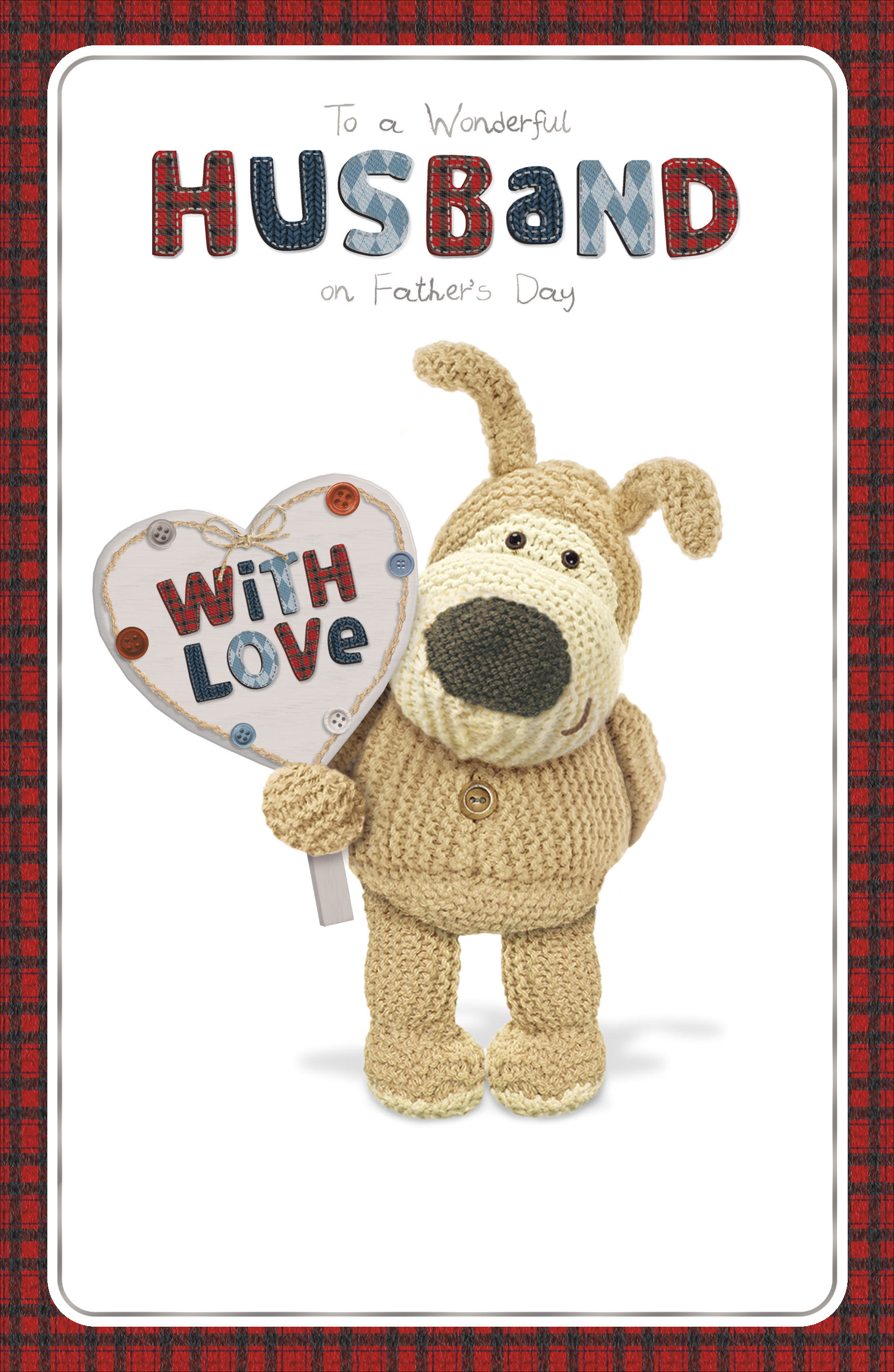 Boofle Wonderful Husband Happy Fathers Day Card Cards